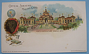 Mines, Horticulture & Graphic Arts Postcard-pan Am Expo