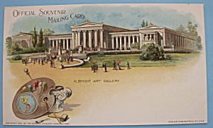 Albright Art Gallery Postcard (1901 Pan American Expo)