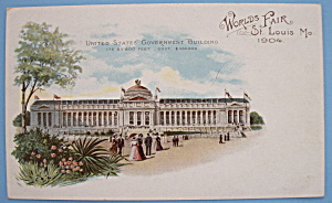 U. S. Government Bldg Postcard (Lewis & Clark Expo)