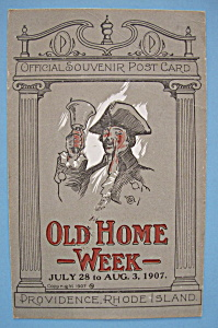 1907 Old Home Week Postcard (The Rhode Island News Co)