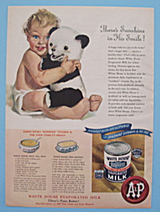 Vintage Ad: 1946 White House Evaporated Milk