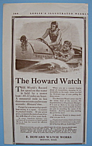 Vintage Ad: 1913 Howard Watch