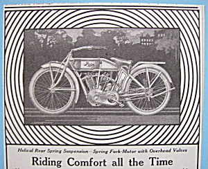 Vintage Ad: 1913 Pope Motorcycles
