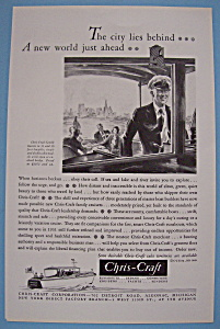 Vintage Ad: 1931 Chris - Craft