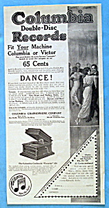 Vintage Ad: 1914 Columbia Double Disc Records