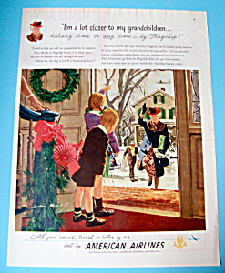 Vintage Ad: 1948 American Airlines