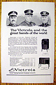 1923 Victrola Talking Machine With Sousa