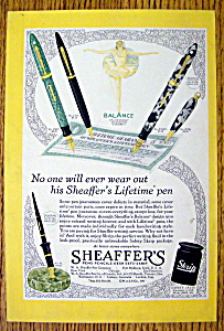 1930 Sheaffer's Lifetime Pen