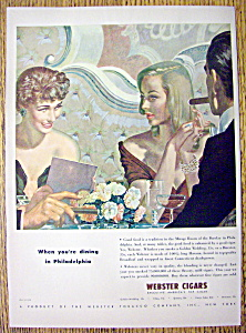 1947 Webster Cigars