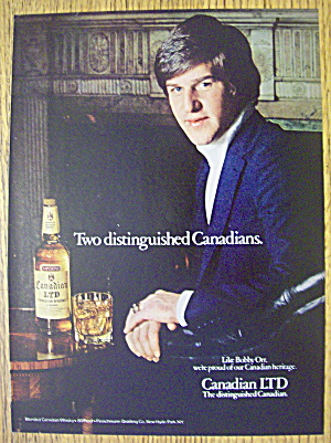 1979 Canadian Ltd Whiskey With Bobby Orr