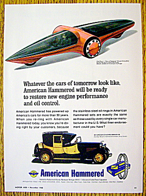 1968 American Hammered With Brougham & Car Of Tomorrow
