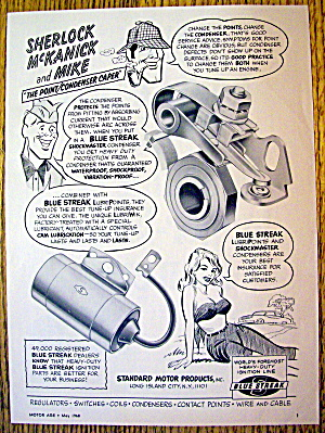 1968 Blue Streak Condenser With Sherlock & Mike