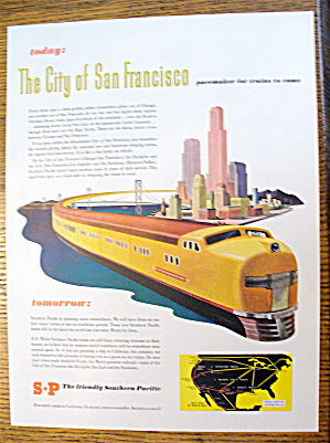 1946 Southern Pacific With San Francisco City