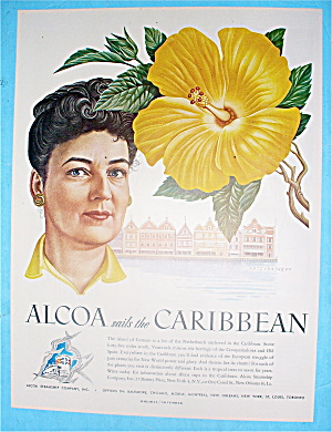 1948 Alcoa Sails The Caribbean With Curacao