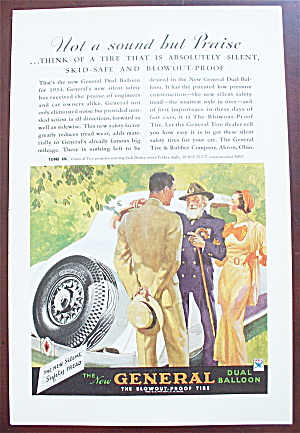 1934 General Tire With A General Talking To A Man