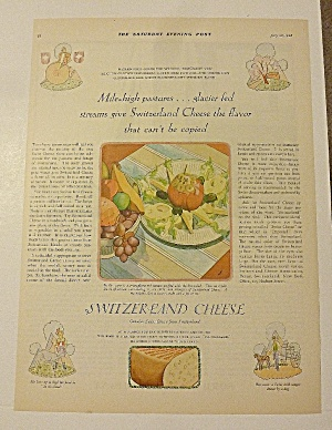 1928 Switzerland Cheese With Cheese With Stuffed Tomato
