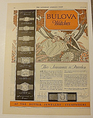 1928 Bulova Watches With Rona & More