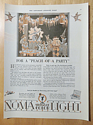 1928 Noma Lights With Halloween Party