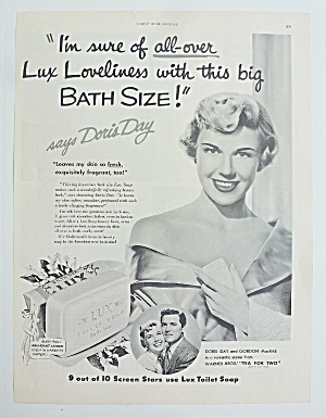 1950 Lux Soap With Doris Day