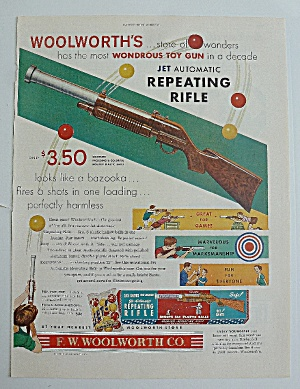 1950 Woolworth's With Jet Automatic Repeating Rifle
