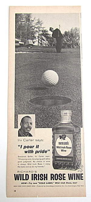 1963 Vintage Wild Irish Rose Wine With Irv Carter