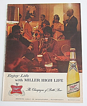 1963 Miller High Life Beer With Party
