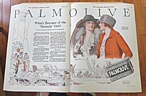 1924 Palmolive With Women Talking