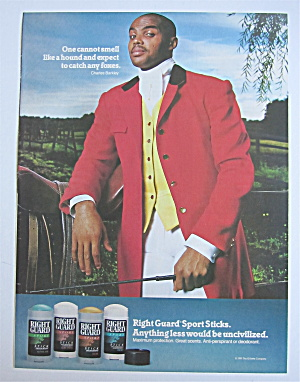 1992 Right Guard Deodorant With Charles Barkley