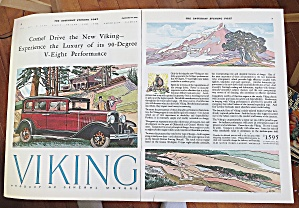 1929 Viking Automobile With New Viking