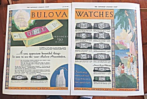1930 Bulova Watches With Different Watches