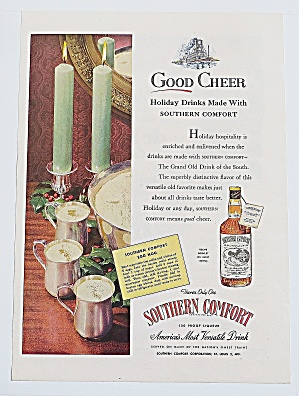 1946 Southern Comfort With Egg Nog