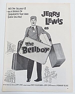 1960 The Bellboy With Jerry Lewis
