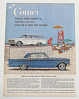 1960 Comet With The Comet & Station Wagon