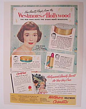 1950 Westmore Cosmetics With Jane Wyman