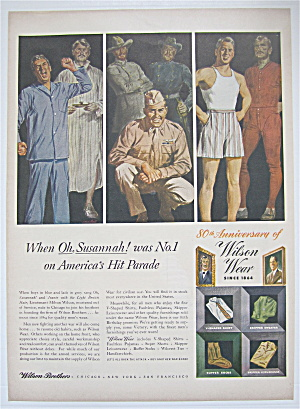 1944 Wilson Wear With Men In Different Clothes