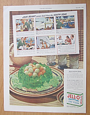 1939 Lime Jell-o With Jack Benny & The South Seas