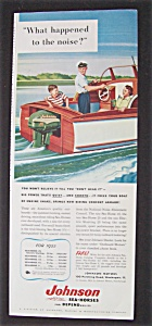 Vintage Ad: 1955 Johnson Motors