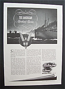 Vintage Ad: 1943 Matson Line To Hawaii