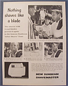 1961 Sunbeam Shavemaster W/ Wally Burkemo