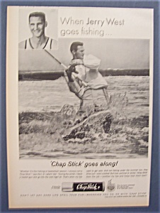 Vintage Ad: 1965 Chap Stick With Jerry West