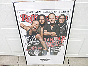 Rolling Stone Louder Faster Stronger 2009 Wall Poster