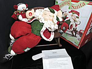 Snoring Santa Aa Battery Operated Imported By Costco