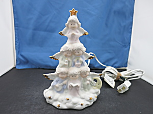 Porcelain Angel Tree Night Light House Of Lloyd