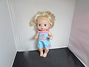 Baby Alive Doll 2008 Hasbro 13 Inch Drinks And Wets