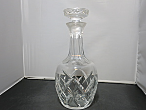 Cut Crystal Decanter Best Guess Pre Dates 1950s Elegant