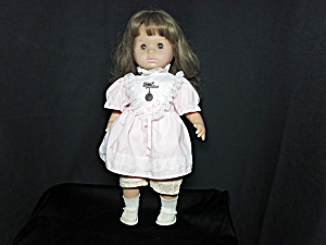 Zapf Creations Doll Original Dress With Button 17 Inch