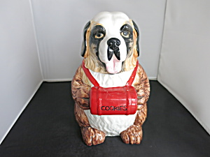 Himark Gourmet Kitchen St. Bernard Dog Cookie Jar