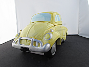 Volkswagen Cookie Jar Lotus Yellow Punch Buggy Beetle