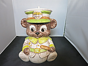 Treasure Craft Teddy Bear Chief Of Police Cookie Jar