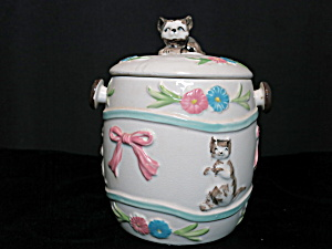 Japan Cracker Biscuit Cookie Jar Petite No Handle